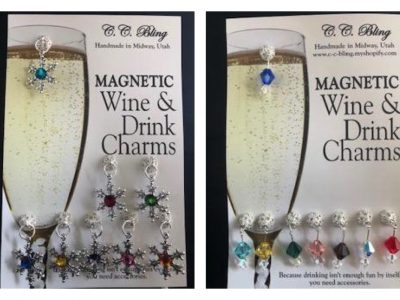 C.C. Bling | Magnetic Cocktail Charms, Charcuterie Boards, and Coasters
